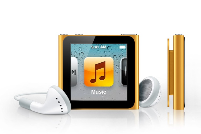 iPod nano large icons
