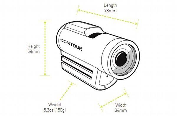 Contour+ video camera