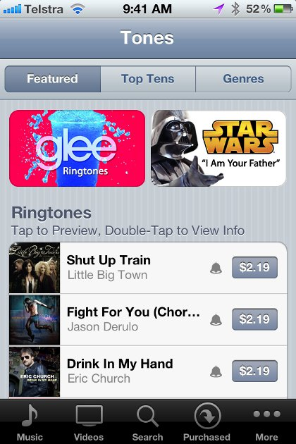 how to make ringtones from songs itunes