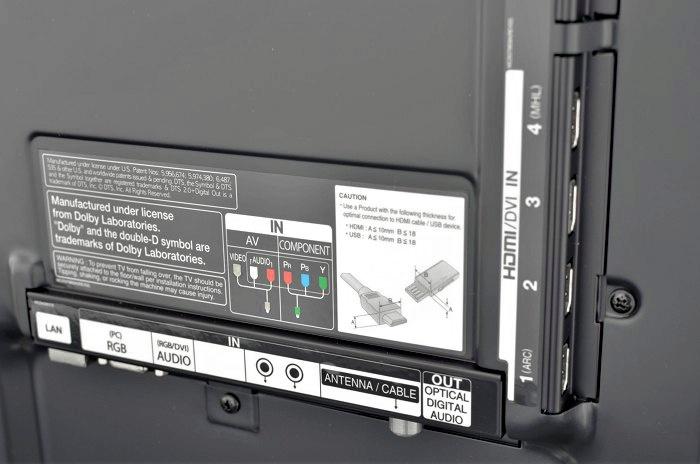 LG LM9600 connectors