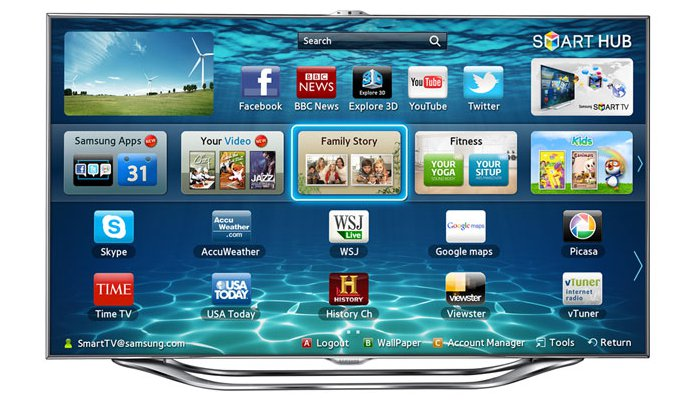 Samsung ES8000 LED TV