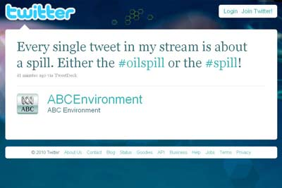 Twitter spill