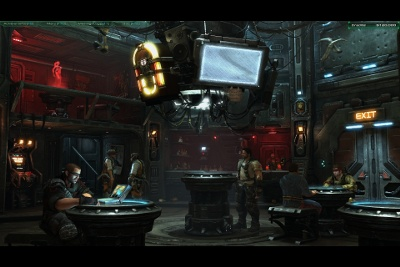 The Cantina allows the hiring of mercenary forces that are superior to regular Terran infantry.